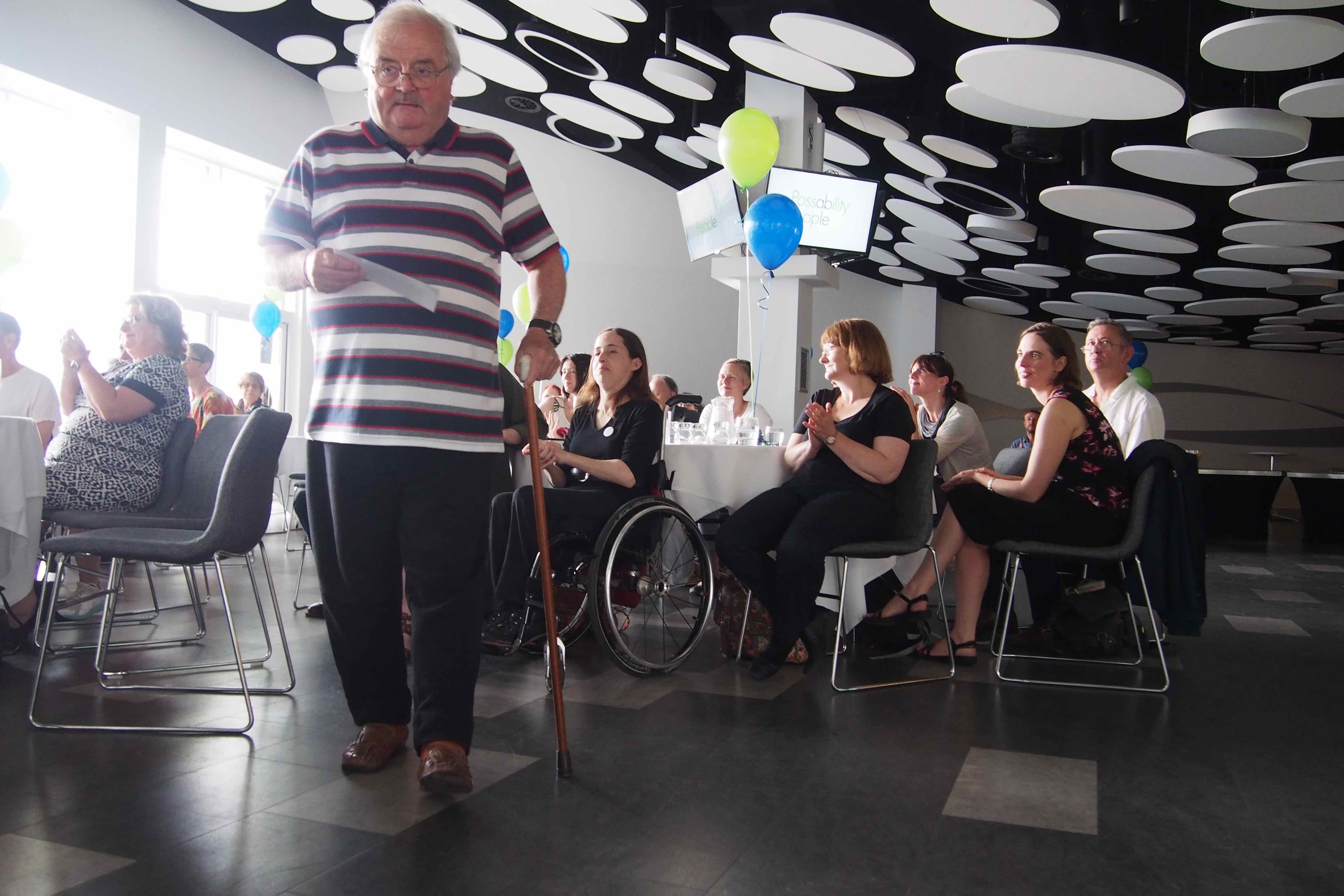 Board members taking part in Possabiity People launch event