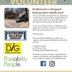 Eastbourne's Dropped Kerb Project poster