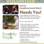 Sussex Neighbourhood Watch poster