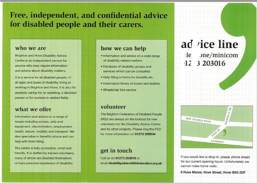 DAC leaflet
