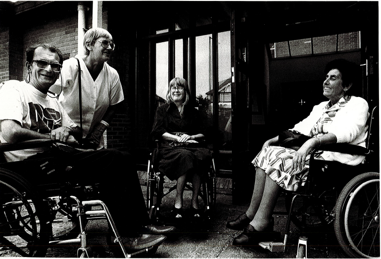 Image of disabled people