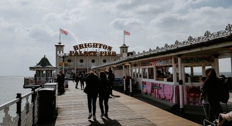Photo of people walking on Brighton Pier
